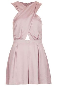 Topshop cross front romper (get more of the cross-front look here --> http://chicityfashion.com/cross-front-tops/)