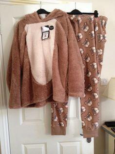 Ladies Pyjamas Size 20-22 Mouse/Hamster Fleecy | eBay