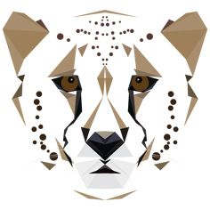 GRAPHIC ART: ANIMAL ALPHABET - Cc is for Cheetah