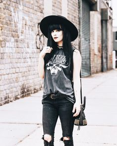 Tell your children not to walk my way. // new on the blog ft @americangypsyvintage  by jaglever
