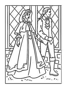 Barbie As The Princess And Pauper Coloring Pages