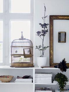Vogelkäfig als Kuvertbox für Geldgeschenke