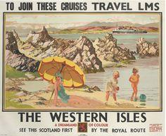 Vintage LNER LMS The Trossachs Railway Poster A3//A2//A1 Print