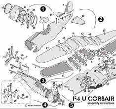 U Corsair Instructions Bunny Origami, Dinosaur Origami, Origami Butterfly, Origami Paper, Paper Airplane Models, Model Airplanes, Paper Models, Paper Aircraft, Pattern Sketch