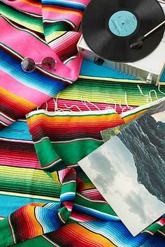Serape Striped Blanket - Urban Outfitters