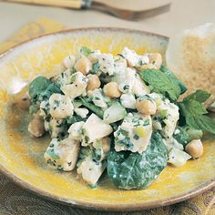 This is a recipe we tried last week and it was delicious and easy! Even better with pita bread.
