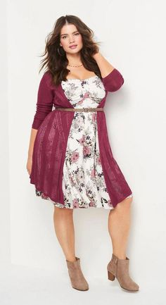 20 Totally Inspiring Plus Size Fall Outfits Ideas - for mom - Fall ideas Inspiring Mom Outfits Plus Size Fall Outfit, Dress Plus Size, Plus Size Outfits, Plus Size Hair, Plus Size Petite Dresses, Plus Size Winter Dresses, Plus Size Fashion Dresses, Curvy Outfits, Mode Outfits
