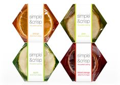 """""""Simple & Crisp's organic, gluten-free fruit crisps serve as a gourmet serving vessel and cracker alternative for the social, yet health conscious entertainer. The crisps are """"the perfect pairing"""" for items such as cheese, chocolate, champagne, and countless other specialty foods and beverages."""