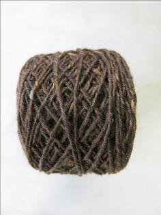 Mohair tweed Mörk choklad