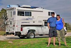 Here's how Dave and Cindy Gilbert escaped the rat race to live full-time, footloose and fancy free, in a Northern Lite truck camper.