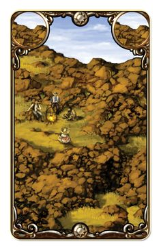 Hacienda HD - a rocks card.