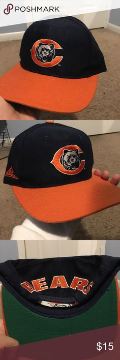 Vintage Bears Snapback Green under brim Apex Snapback Excellent Condition Accessories Hats