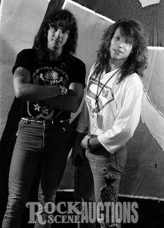 Richie Sambora and Jon Bon Jovi 1989