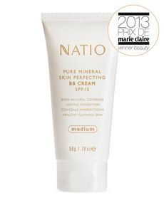 Natio Pure Mineral Skin Perfecting BB Cream SPF 15 - I love this vegan BB cream so much! I won a Marie Claire award, and it gets great reviews on MakeupAlley. And it's a steal at $15!