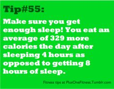 Get Enough Sleep... this may motivate you!