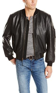 Alpha Industries Leather MA-1 Flight Jacket | Alpha Industries ...