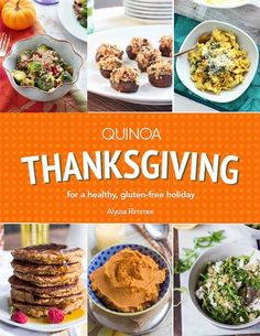 Quinoa Thanksgiving Recipes - for the whole family to enjoy! By Alyssa Rimmer: If you're anything like me, then this holiday is totally sneaking up on you and you still don't have your menu planned out. Which is exactly why I decided to write a book to do just that: help you plan your Thanksgiving meal ahead of time and fill it with healthy, delicious food. Alyssa https://www.pinterest.com/simplyquinoa is member of Vegan Community Board https://www.pinterest.com/heidrunkarin/vegan-community
