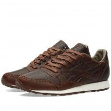 Reebok x Horween Leather Co. Classic Leather Lux (Just Brown & Golden Brown)