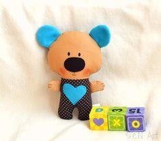 Hey, I found this really awesome Etsy listing at https://www.etsy.com/listing/237977117/handmade-fabric-teddy-bear-softie-bear