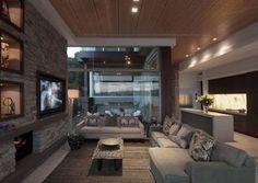 brick wall living - Pesquisa Google