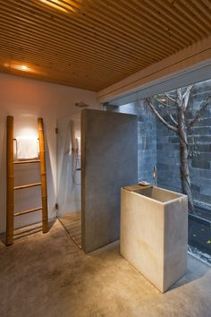 M11 house, Hochiminh city, 2008 #bathroom #freestanding #bamboo