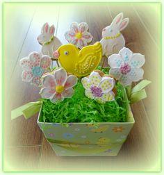 Vanilla Cookies, Planter Pots