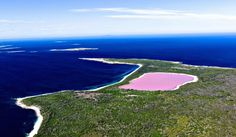 "Pink Lake Hillier Takes ""Pretty In Pink"" To The Next Level"