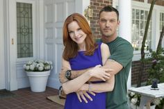 Marcia Cross, Brian Austin Green ~ Desperate Housewives ~ Behind the Scenes ~ Season 7, Episode 4: The Thing That Counts Is What's Inside #amusementphile