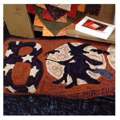 I would love to see this wool rug in full.