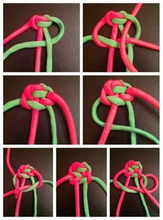 A bunch of Paracord ideas.