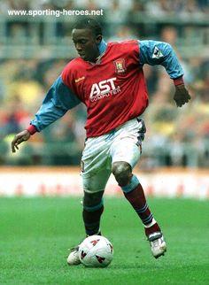 Dwight Yorke, Aston Villa v Newcastle 30th September 1996.