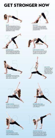 Stretch yourself slim with Tara Stiles #yoga #YogaTips102