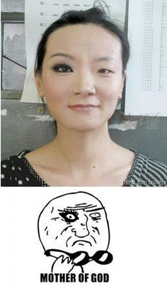 The power of good make-up!