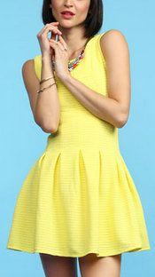 Patonya Pleated Dress