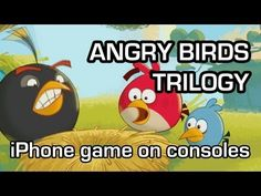 Angry Birds Trilogy - Three iOS games on disc (Xbox 360 gameplay 1080p)