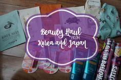 miranda loves: Beauty Haul from Korea & Japan