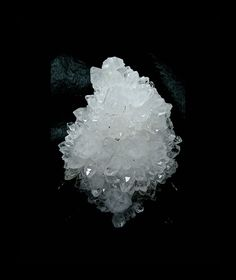 Quartz Crystal Cluster One Side Spiky One side by FenderMinerals