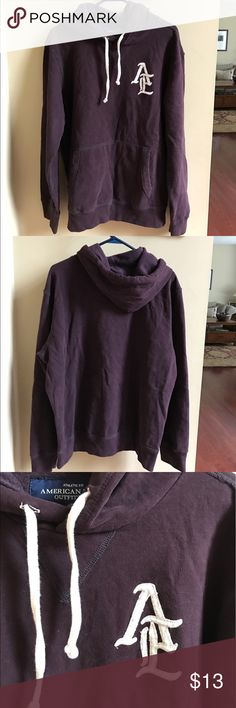 American Eagle Hoodie American Eagle Hoodie size large. Excellent condition. American Eagle Outfitters Shirts Sweatshirts & Hoodies