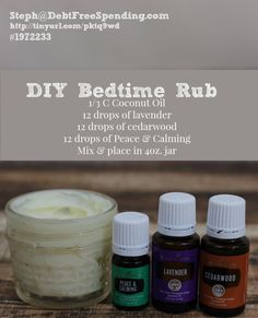 Essential oil bedtim