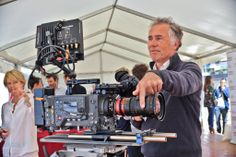 Gilles Henry AFC testing the Angenieux 56-152mm Anamorphic zoom lens