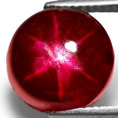 6.70-Carat Deep Pigeon Blood Red Burmese Star Ruby.  There has been a ban in the U.S. since 2008 on the sale of rubies from Myanmar (formerly Burma) because the government uses slave labor to mine.