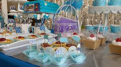 Foto 3/7 Frozen Party (Sweet Corner Themed) #sweetcorner #sweettable #frozenparty #frozensweetcorner #birthdayparty