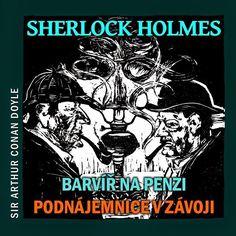 cz: Arthur Conan Doyle: Sherlock Holmes - Barvíř na pe. Sherlock Holmes, Itunes, Comic Books, Arthur Conan, Comics, Studio, Cover, Studios, Cartoons