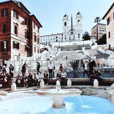 Praça Espanha, Roma, Itália