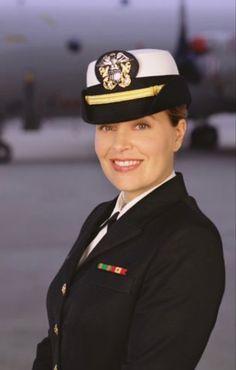 Best Uniforms, Girls Uniforms, David James Elliott, Ncis New, Catherine Bell, American Veterans, Smart Women, Female Soldier, Military Girl