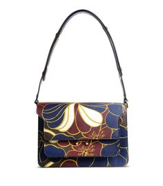 54fad7af3254 Marni Medium Trunk Printed Leather Bag Fab Bag