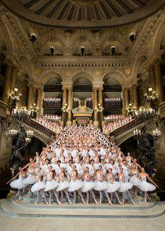 Le corps de Ballet de l'Opéra de Paris