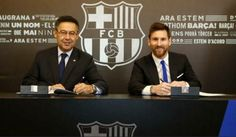 Lionel Messi Signs New Barcelona Contract Until 2021 http://ift.tt/2jYLpZa