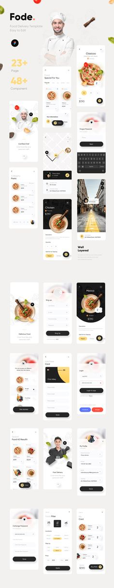 Website Layout, Web Layout, Layout Design, Clean Web Design, Ui Ux Design, Mobile Ui Patterns, App Design Inspiration, Mobile Ui Design, User Interface Design