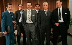 Mad Men Monday! - Fashion for the discerning gentleman